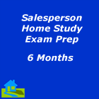 6-month salesperson home study exam prep